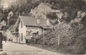 St Gerlach Houthem Ingang Oeulemer Groeve