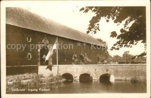 Limbricht Ingang Kasteel Schloss Bruecke