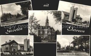 Ederveen Dorpsstraat Kerk Kruispunt Brinklanderweg Kasteel Pastorie