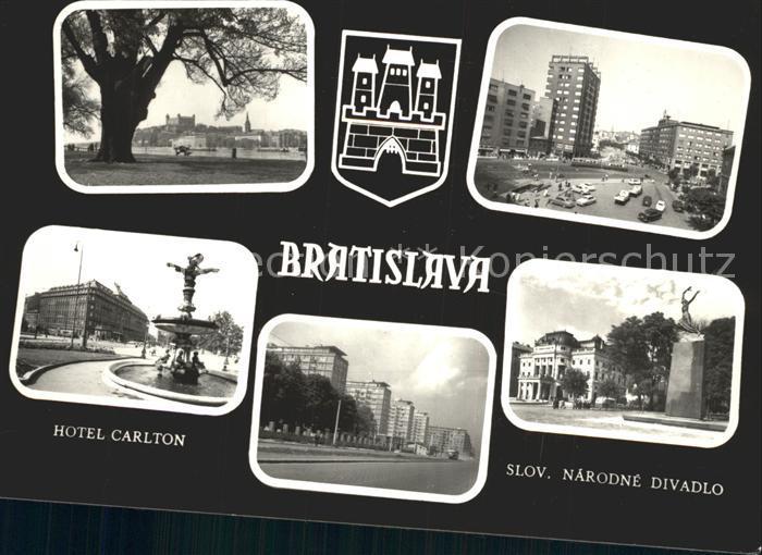Bratislava Hotel Carlton Slov Narodne Divadlo / Polen /Polen