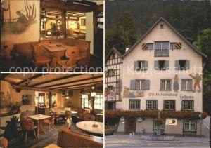 Chur GR Restaurant zum alten Zollhaus  Kat. Chur