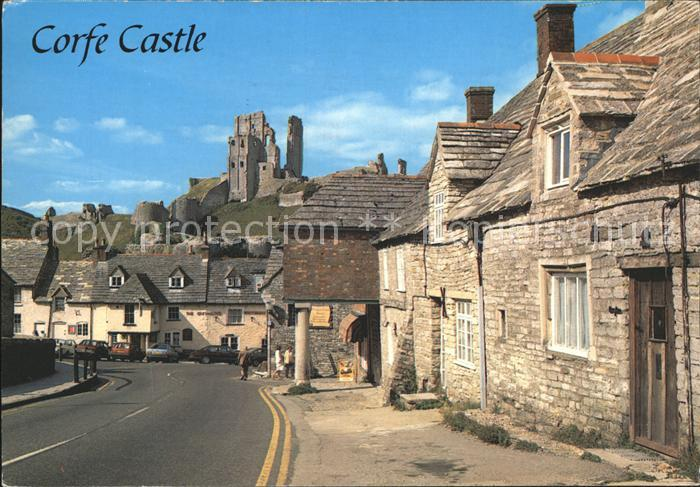 Corfe Dorset Corfe Castle and Village Kat. Purbeck