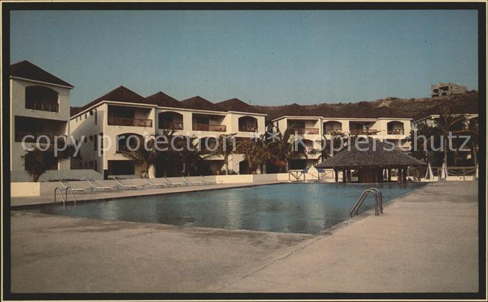 St Kitts Nevis Frigate Bay Beach Hotel Swimmingpool Kat. Basseterre