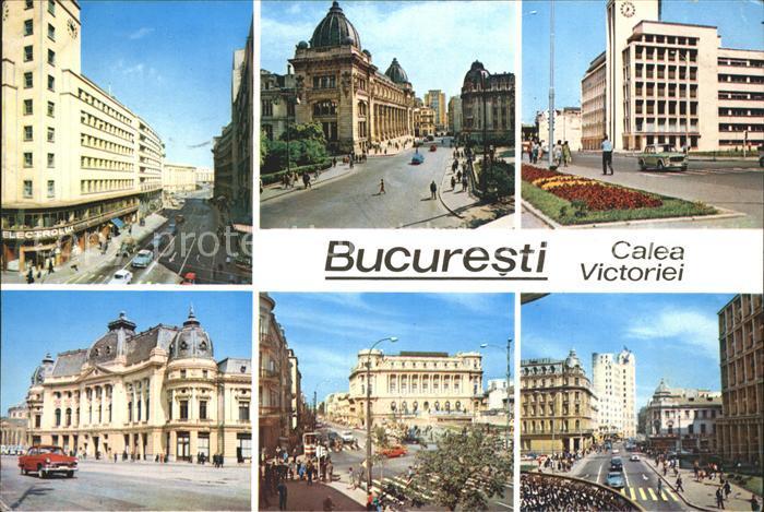 Bucuresti Calea Victoriei  Kat. Rumaenien