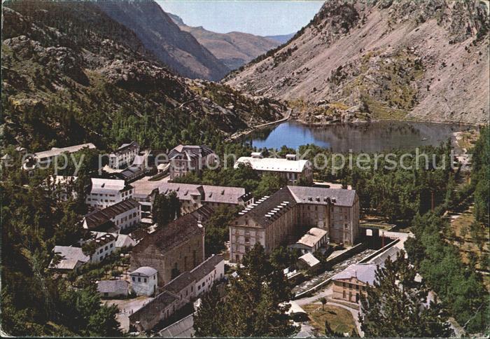 Panticosa Pirineo Aragones Vista general y Lago Kat. Spanien