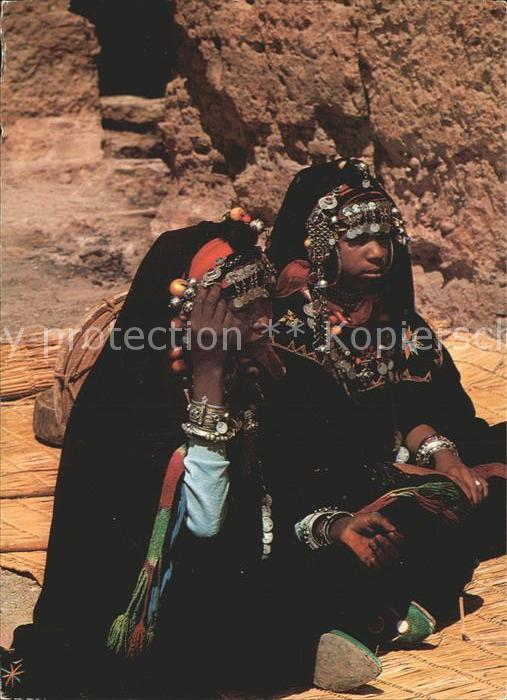 Marokko Maroc Frauen in traditioneller Kleidung Kat. Marokko