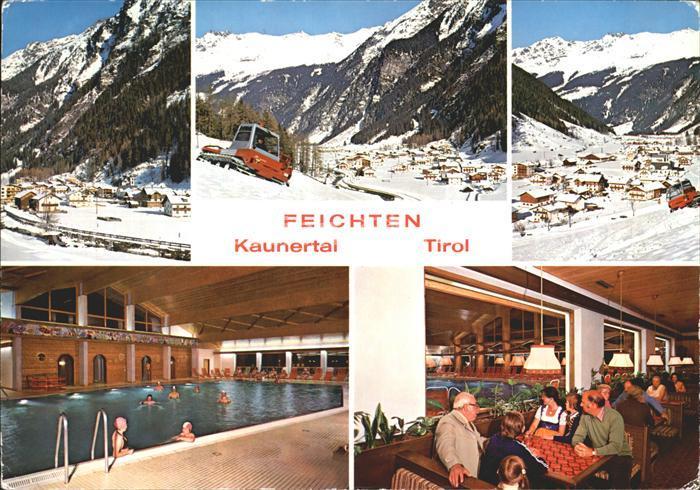 Feichten Kaunertal Freizeitzentrum  Kat. Tirol