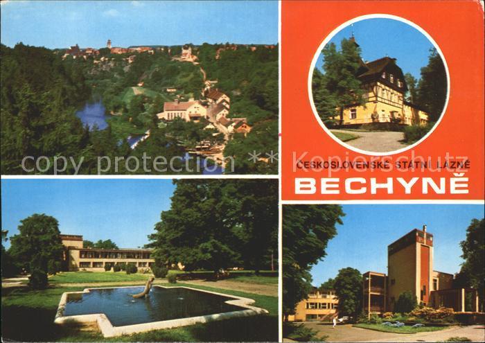 Bechyne Lazensky dum Sarka Lazensky park  Kat. Tschechische Republik