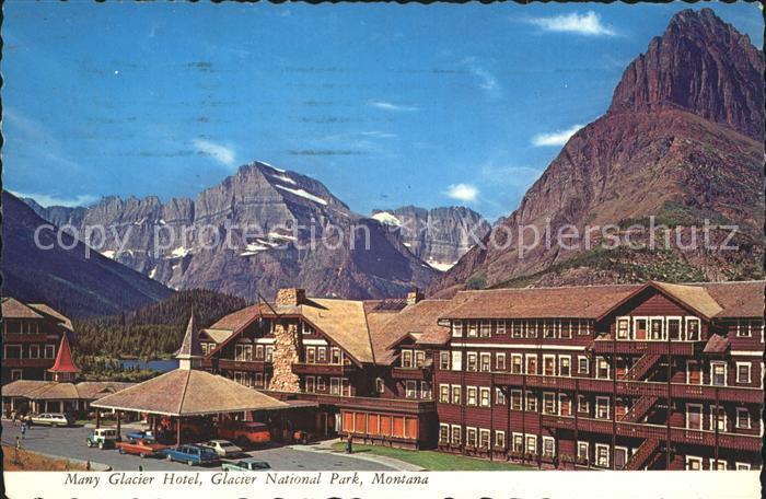 Glacier National Park US Many Glacier Hotel  / Glacier National Park /