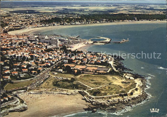 Royan Charente Maritime Vue generale et la plage du Chay Kat. Poitiers Charentes