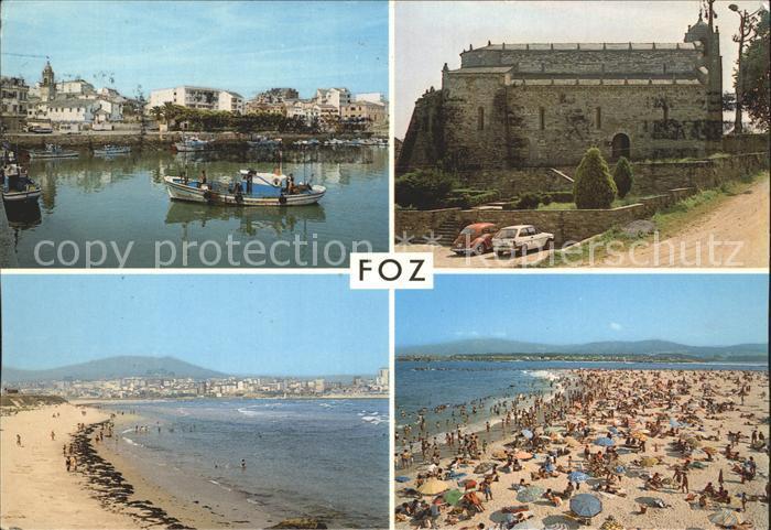 Foz do Arelho Burg und Strandpartie Kat. Caldas Da Rainha