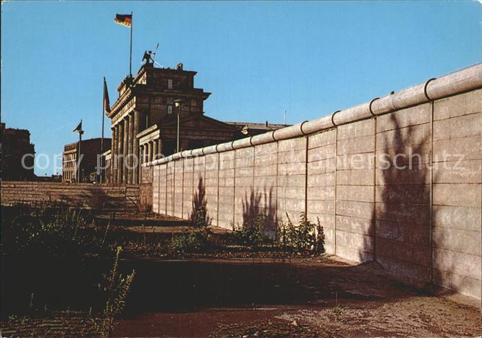 Berliner Mauer Berlin Wall Brandenburger Tor Berlin  / Berlin /Berlin Stadtkreis