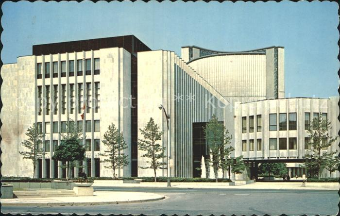Toronto Canada Modern Court House and Law Library on University Ave Kat. Ontario