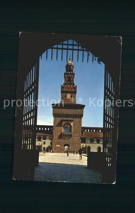 Milano Castello Sforzesco Kat. Italien