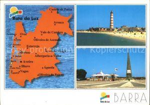 Barra Rota da Luz Regiao de Turismo Costa de Prata Leuchtturm Denkmal