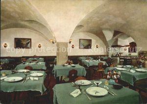Salzburg Oesterreich Hotel Goldener Hirsch Restaurant Kat. Salzburg