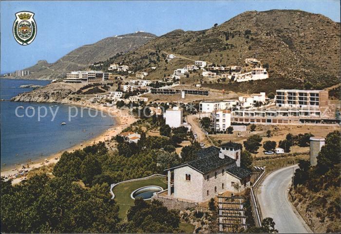 Rosas Costa Brava Cataluna Strand Canyelles Groses Kat. Alt Emporda