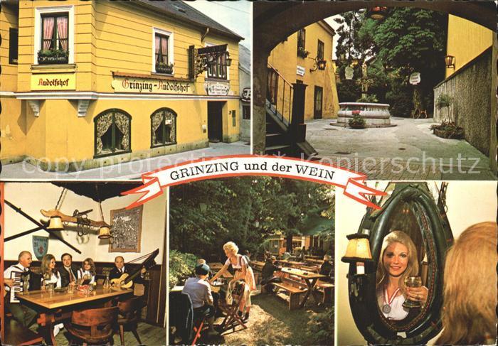 Grinzing Wien Wein Rudolfshof  Kat. Doebling