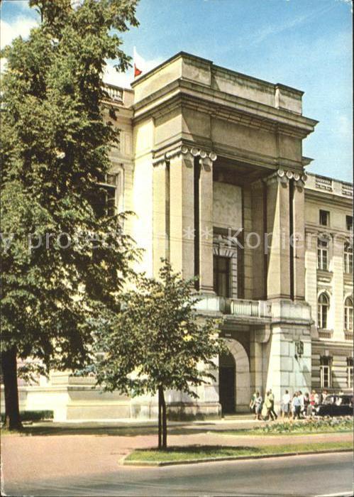 Warszawa Council Ministers  Kat. Warschau Polen