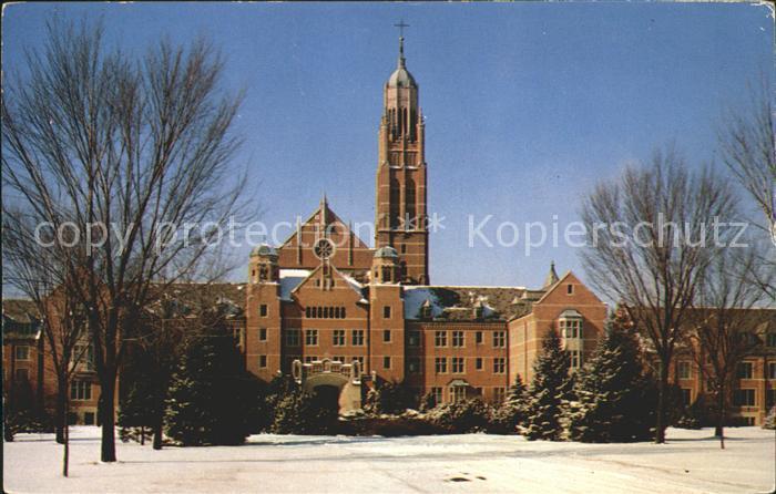 Worthington Ohio Pontifical College Josephinum Kat. Worthington