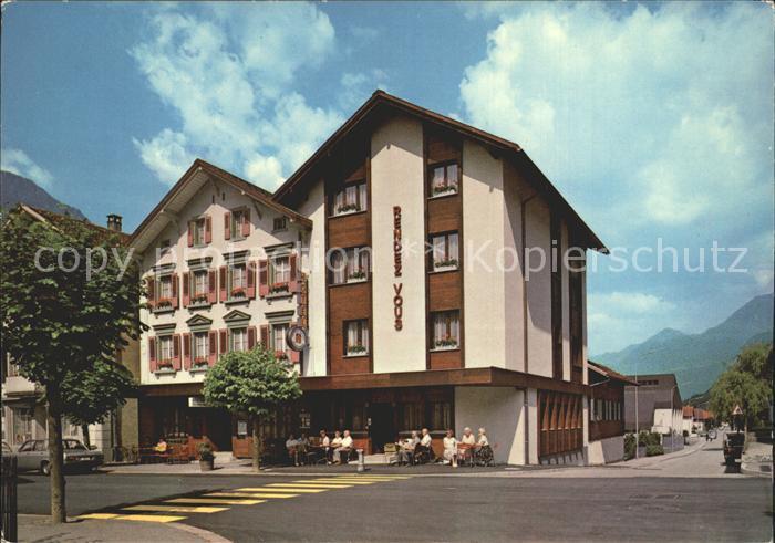 Meiringen BE Hotel Rendez Vous Kat. Meiringen