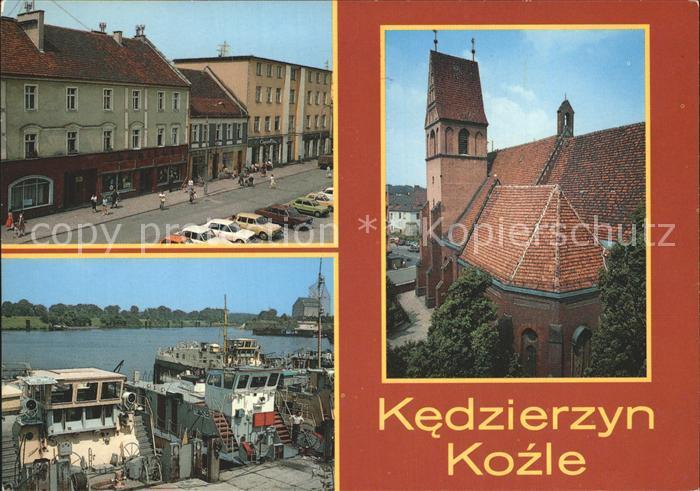 Kedzierzyn Kozle Hafen Kat. Kandrzin Cosel