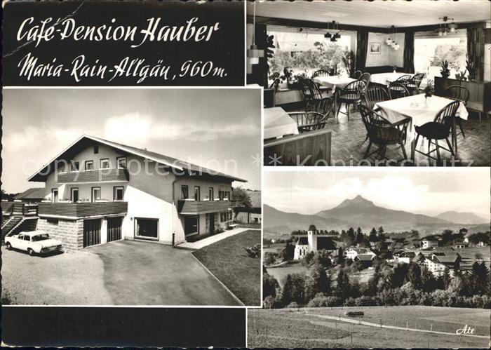 Maria Rain Allgaeu Cafe Pension Hauber Kat. Mittelberg Oy