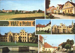 Vraz u Pisku Teilansichten Schloss