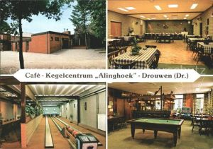 Drouwen Cafe keglecentrum Alinghoek Kat. Borger Odoorn