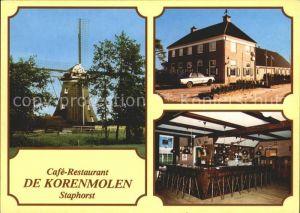 Staphorst Cafe Restaurant de Korenmolen Kat. Staphorst
