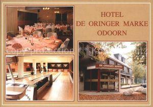 Odoorn Borger Hotel de Oringer Marke Kat. Borger Drenthe