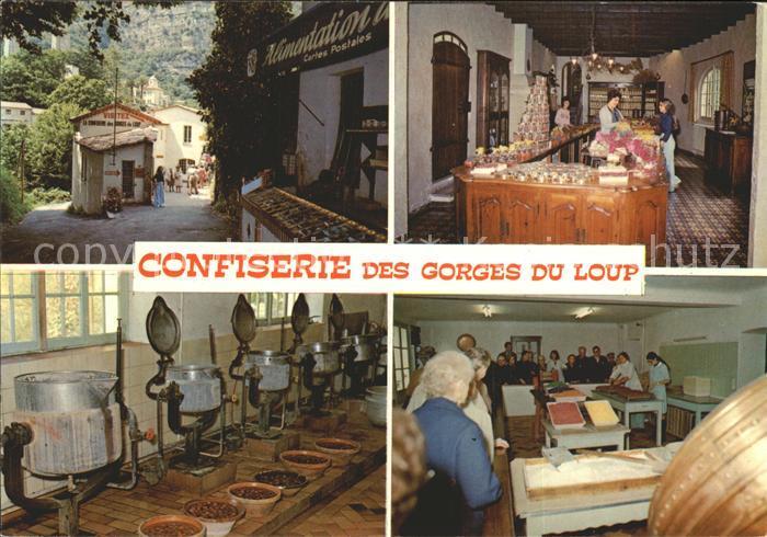 Provence Region Confiserie des Gorges du Loup Fabrique de fruits confits et de fleurs cristallisees Kat. Aix en Provence