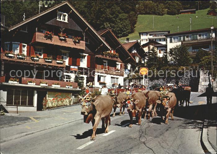 Liechtenstein  Almabtrieb Kat. Liechtenstein