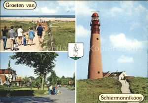 Schiermonnikoog Strand Leuchtturm Kat. Niederlande