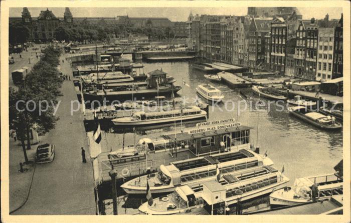 Amsterdam Niederlande Reederij Plas Kat. Amsterdam