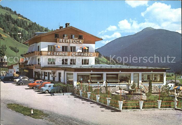 Innichen Suedtirol Albergo Capriolo Gasthaus zum Rehbock Kat. San Candido Innichen Pustertal