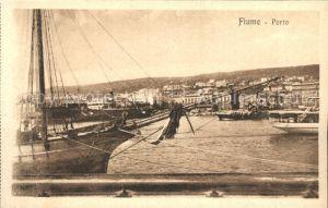 Fiume Hafen  Kat. Rijeka