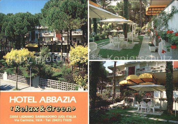 Lignano Sabbiadoro Hotel Abbazia Relax Green Kat. Lignano