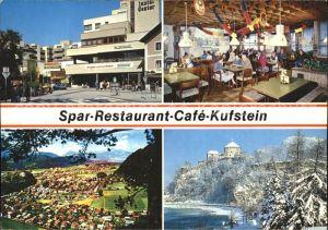 Kufstein Tirol Spar Restaurant Cafe Kufstein Kat. Kufstein