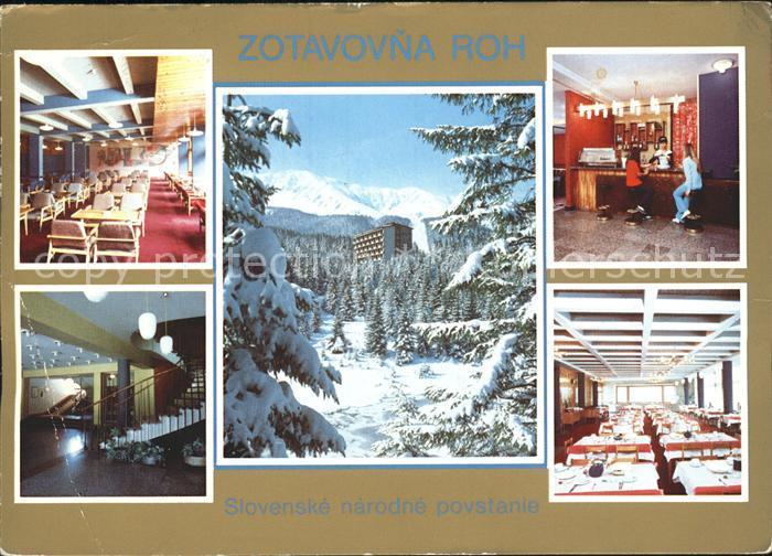 Tatra Vysoke Gebirge Niedere Tatra Hotel Slovenske Kat. Slowakische Republik