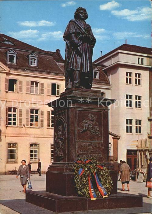 Bonn Rhein Beethovendenkmal Kat. Bonn