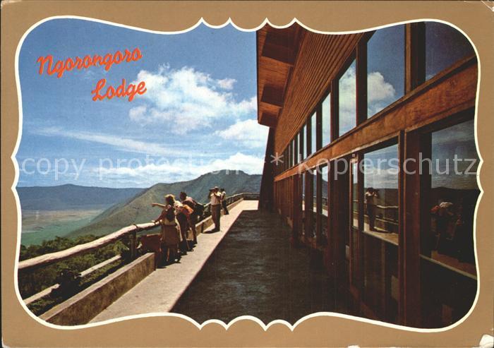 Tansania Ngorongora Lodge Kat. Tansania