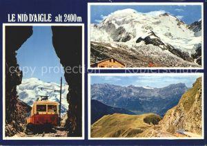 Aigle VD Bergbahn Le Nid D`Aigle Kat. Aigle