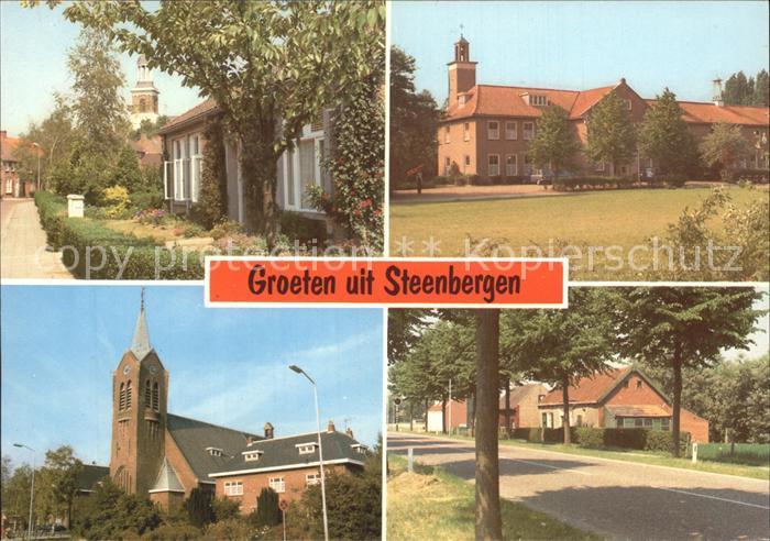 Steenbergen Niederlande Kirche  Kat. Steenbergen