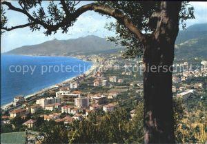 Borgio Verezzi Ansicht von Osten Kat. Italien
