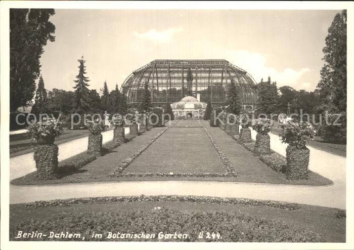 Dahlem Berlin Botanischen Garten  Kat. Berlin