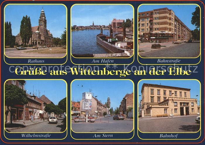 Wittenbergen Elbe Rathaus Hafen Bahnstrasse Bahnhof Am Stern  Kat. Hamburg