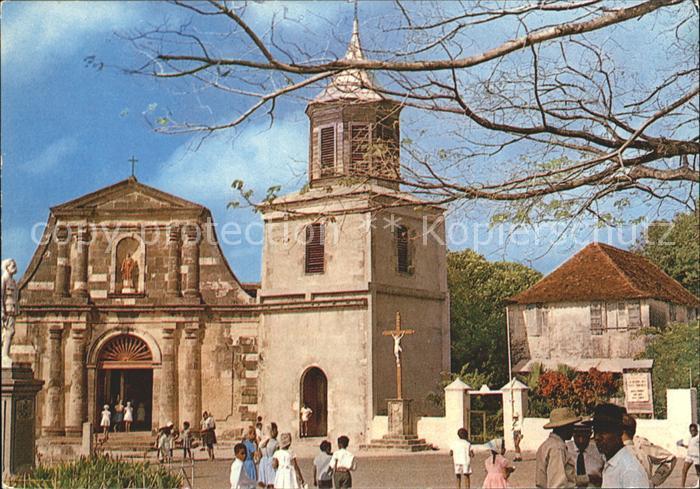 Martinique Marin Kirchenpartie Kat. Martinique