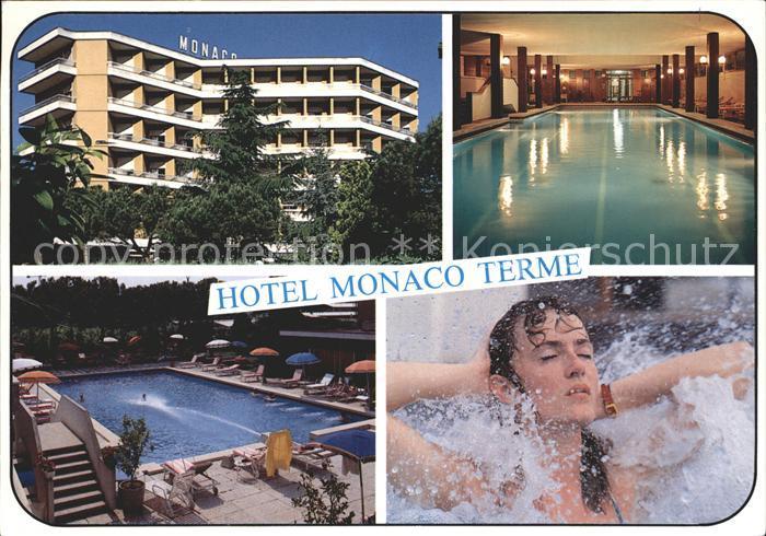 Monaco Hotel Monaco Terme Kat. Monaco