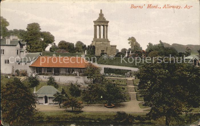 Alloway Ayrshire Burns Monument Kat. Ayrshire